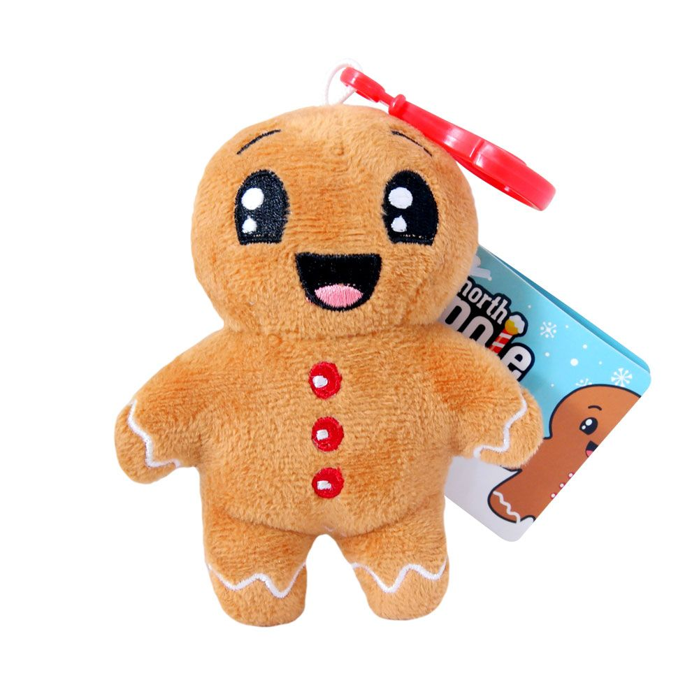 0ba9b0424f2 Backpack Buddies: North Pole #Gingerbread #Scented #Holiday #Christmas # Snowman #Plush #Clips #Ornaments #Stocking #Stuffers #Cute #Ginger #Bread  #Squishy # ...