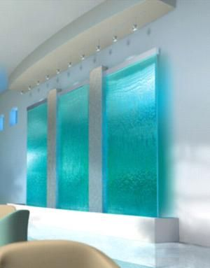 Waterfall Wall Amazing No Need For A Noise Machine Ocean Waves Are Also A Plus For A Good Night S Rest Indoor Waterfall Waterfall Wall Home