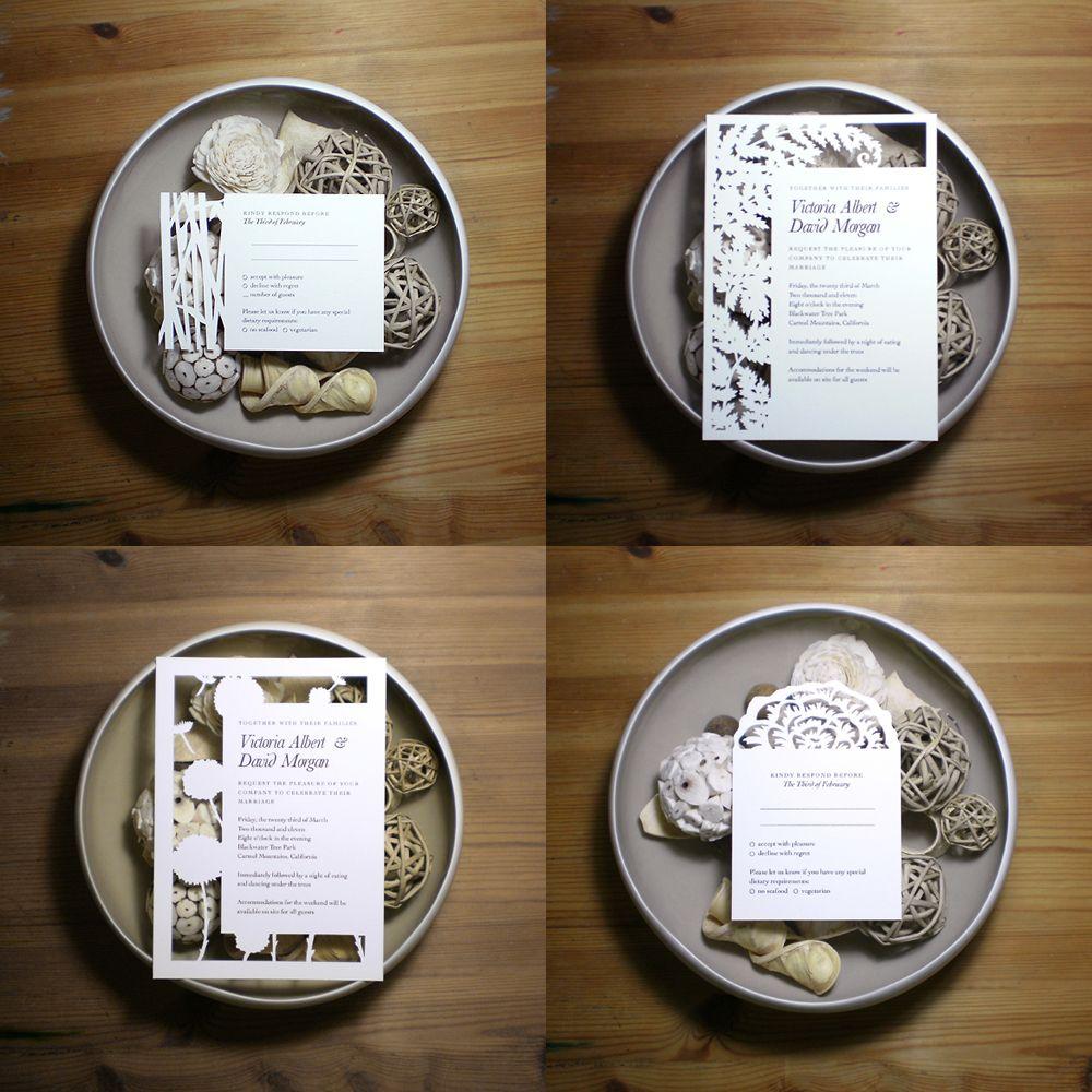 Examples of Unique Wedding Invitations Unique wedding invitation