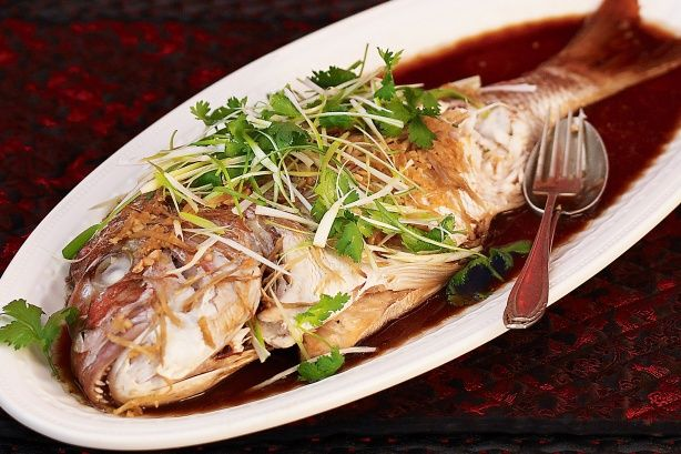 Chinese style snapper recipe fish chinese steamed fish and food forumfinder Image collections