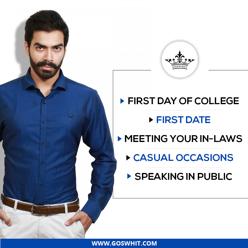 Occasions – When men should dress smartly. Get to know more at: https://goo.gl/ZamcHA #DressingStyle #Menswear #Shirts #Style #Trend