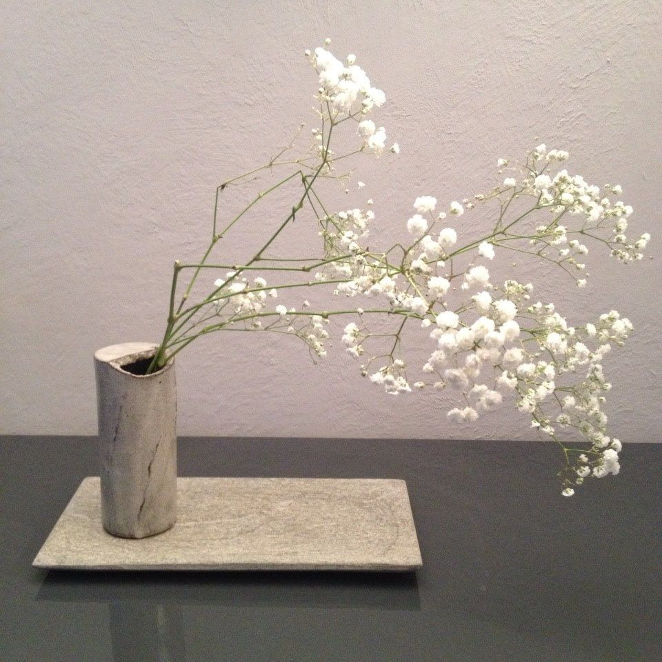 Beginner's Ikebana composition Arnaud Roy