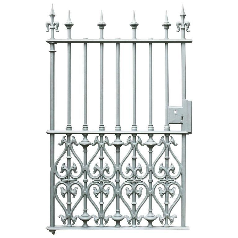 Victorian Cast Iron Pedestrian Gate In 2020