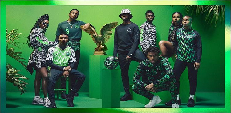 Football World Cup Nigeria S Kit Sold Out Minutes After Release World Cup Jerseys World Cup Kits Football Fashion