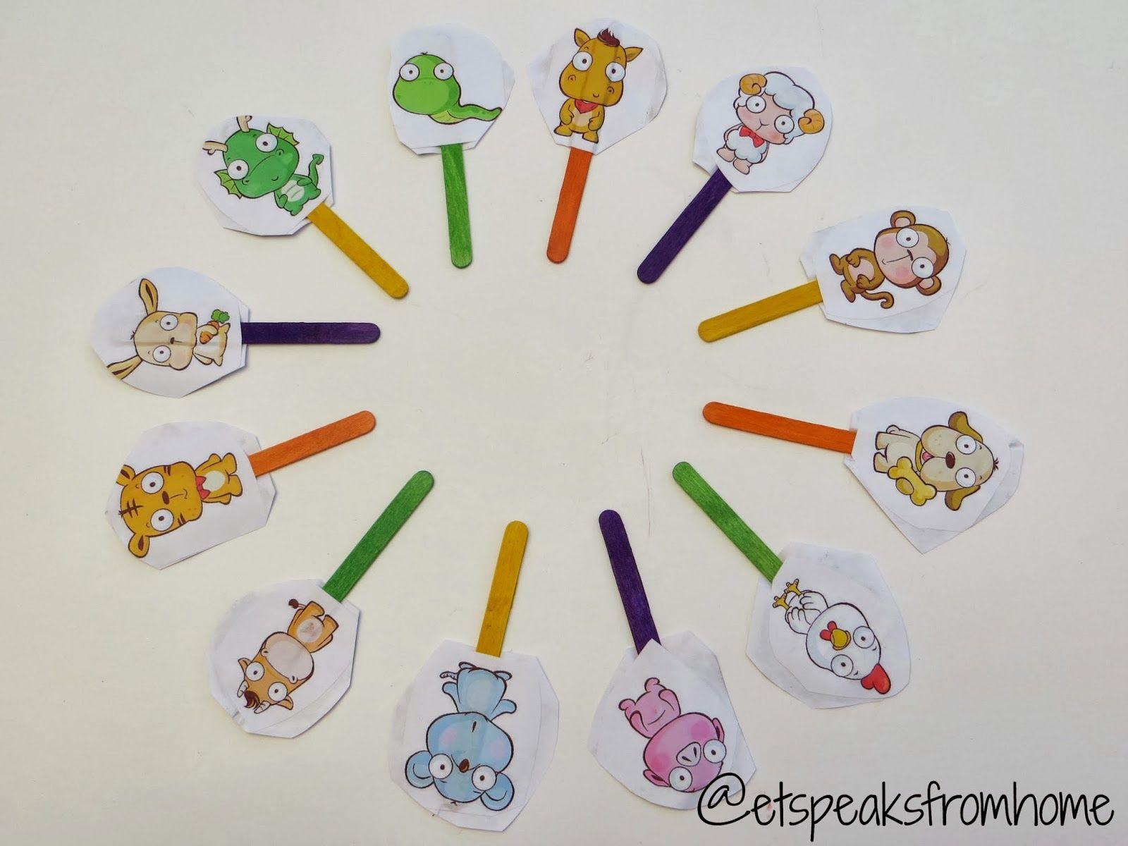 Simple Way To Teach Children Chinese Zodiac
