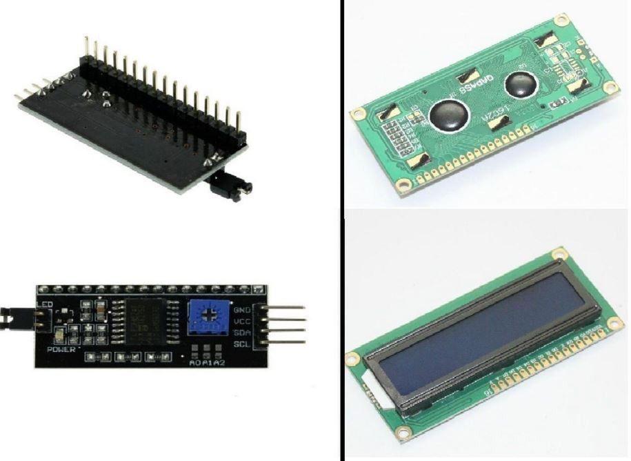 LCD Module Display Monitor 1602 5V 16x2 + IIC/I2C