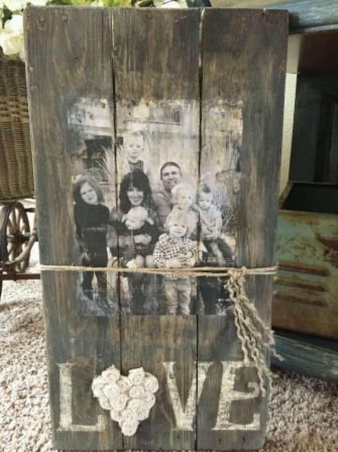 Superior Photo Transfer Wood Mod Podge