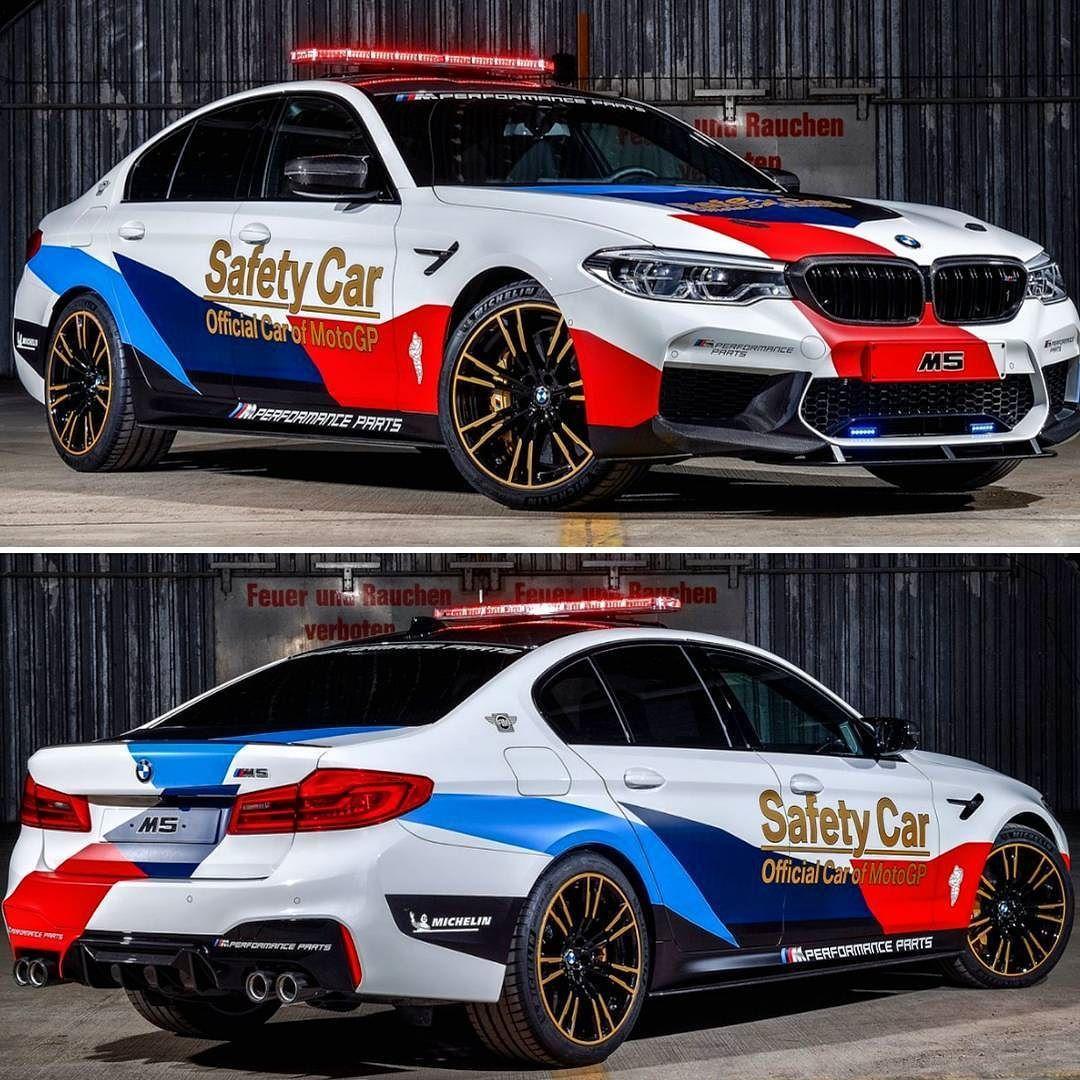 BMW M5 MotoGP Safety Car 2018 Divisão esportiva renovou