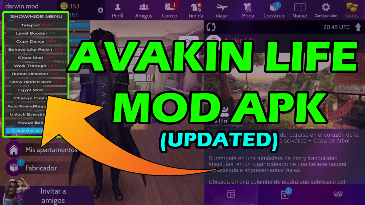 Avakin Life Mod Apk 2020 Download Avakin Life Hack Menu Download Mod App