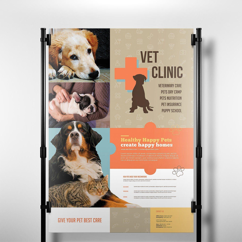 Vet Clinic Templates Pack Puppy School Vet Clinics Vets