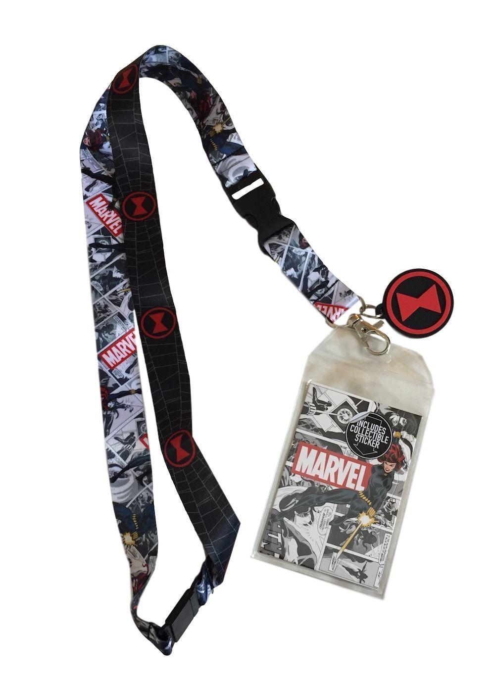 Deadpool Lanyard neck strap Keychain ID Badge Holder Marvel Comics Avengers