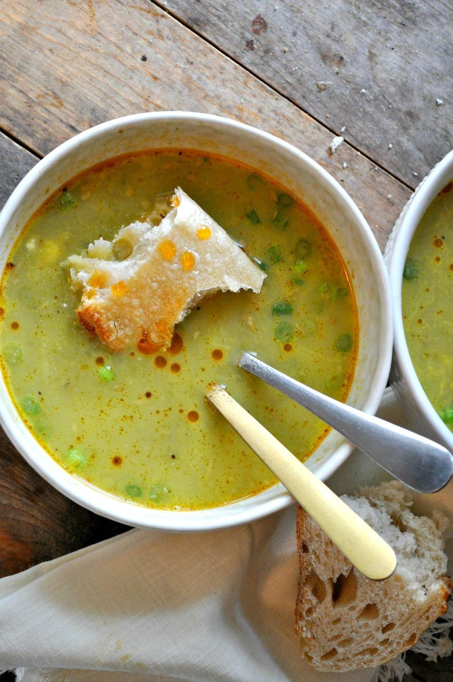 Vegan Spring Onion Soup