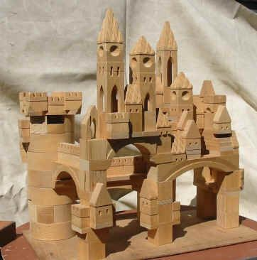 Castle Building Blocks From The Village Blocksmith I Have