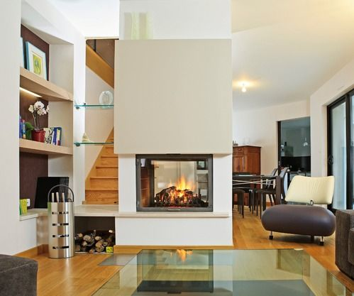 chemin e centrale home pinterest stove fireplace stove and foyer. Black Bedroom Furniture Sets. Home Design Ideas