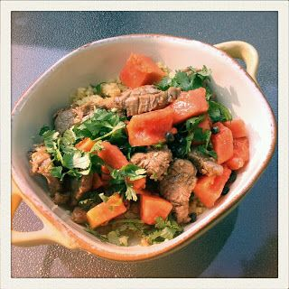 Cooking for Monkeys: Five Spice Pork and Papaya