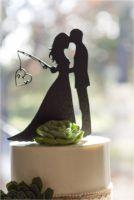 Rustic Fishing-inspired wedding @thedailywedding