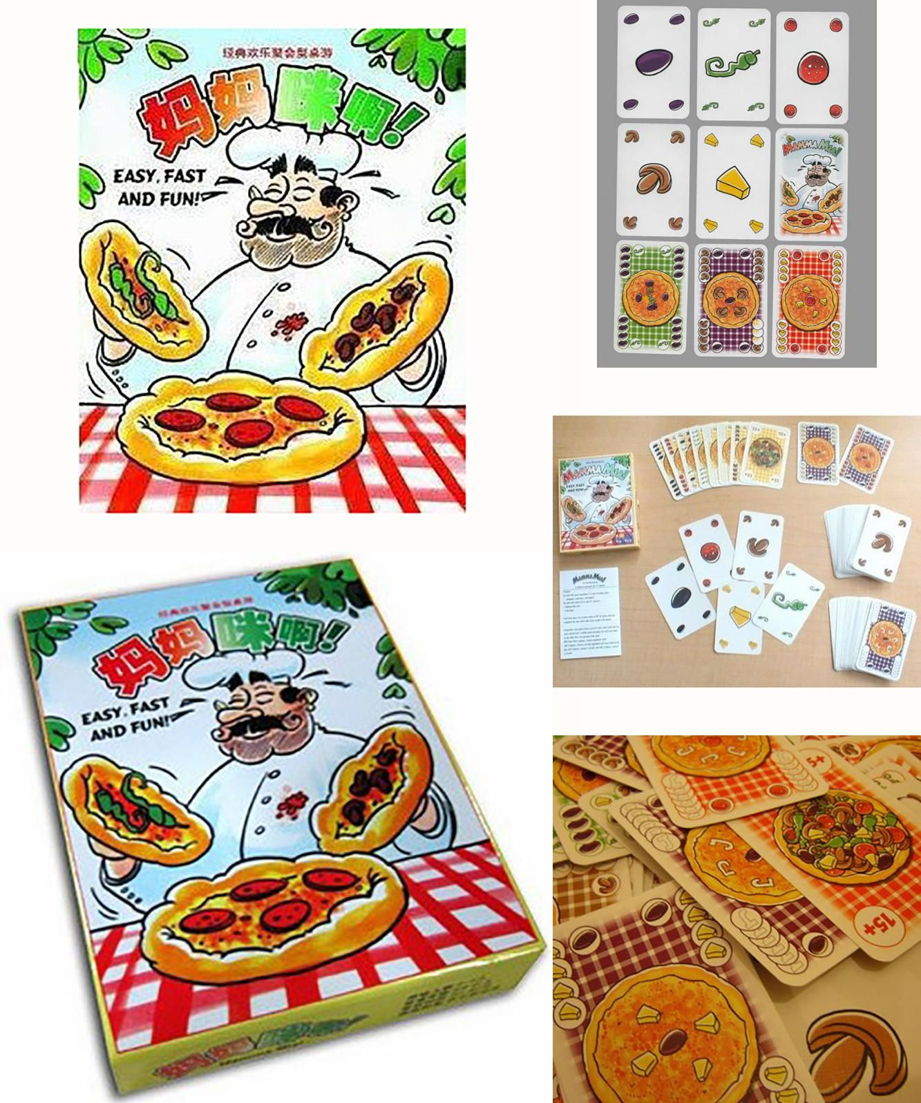 [Visit to Buy] Mamma Mia Board Game , Cards Games 25