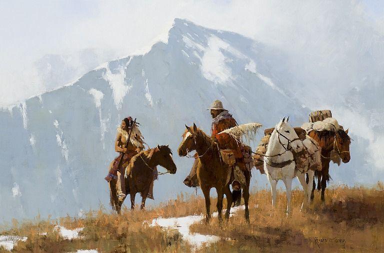 Rocky Mountain Passage by Richard D. Thomas kp Jackson