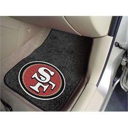 San Francisco 49ers Car Auto Floor Mats Front Seat Cincinnati Reds Car Mats Cincinnati Reds Hats
