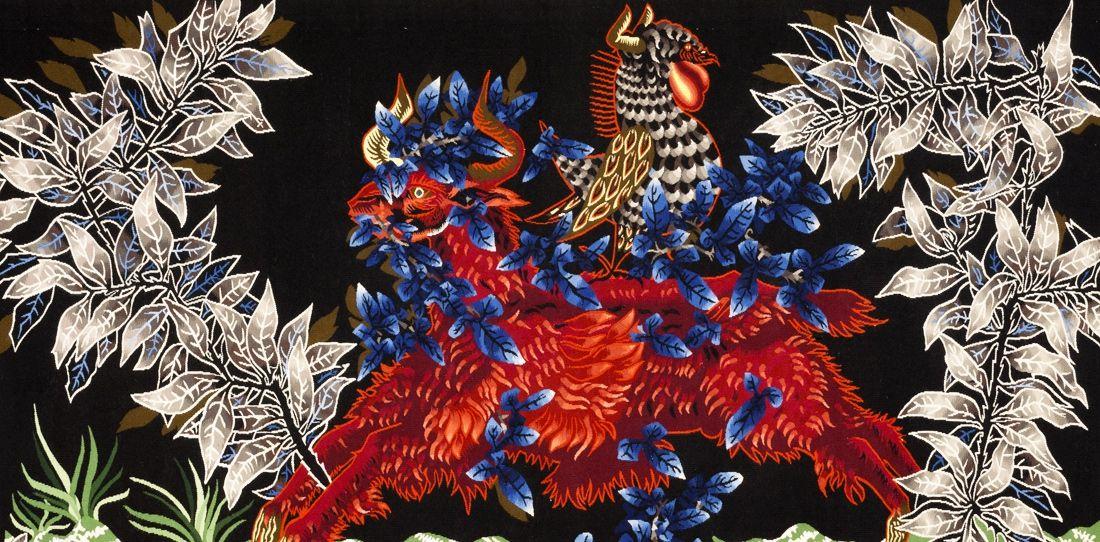 L 39 eau et le feu d tail jean lur at tissage atelier - Cours de tapisserie d ameublement paris ...