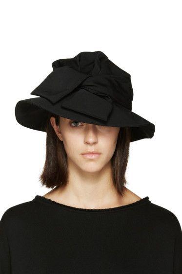Y S Black Tied Cloche Hat Hat Designs Hats Hats For Women