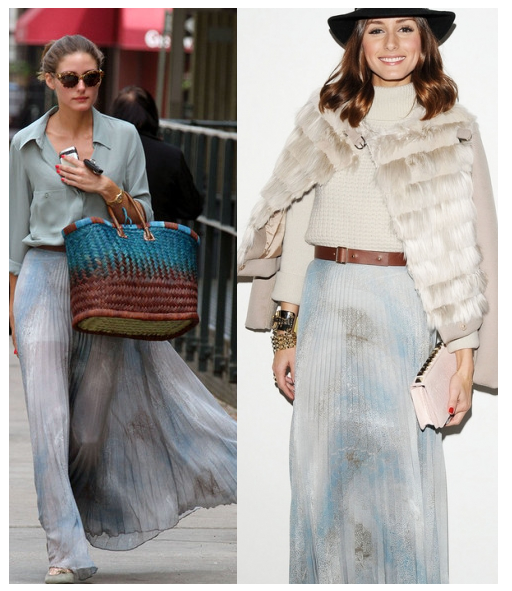 The Olivia Palermo Lookbook : Wardrobe Transition From Summer to Fall