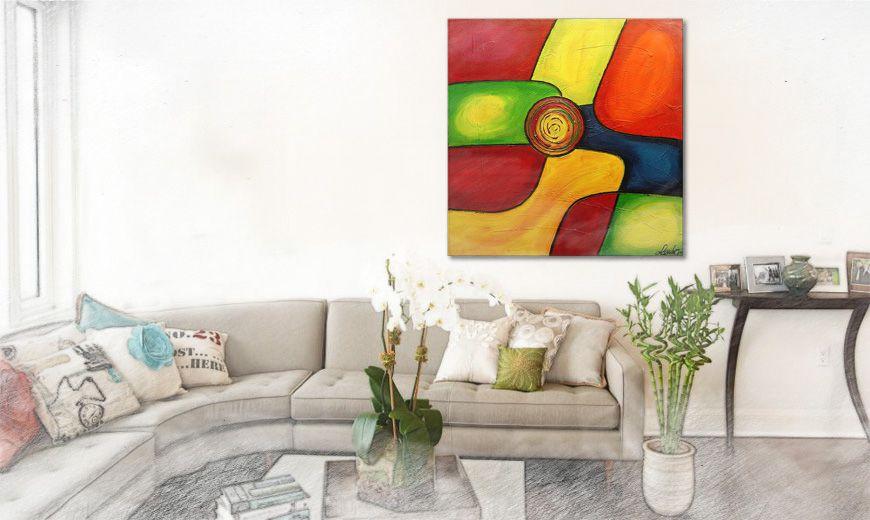 24 best Wohnzimmer - Daily Inspiration images on Pinterest - wandbilder für die küche