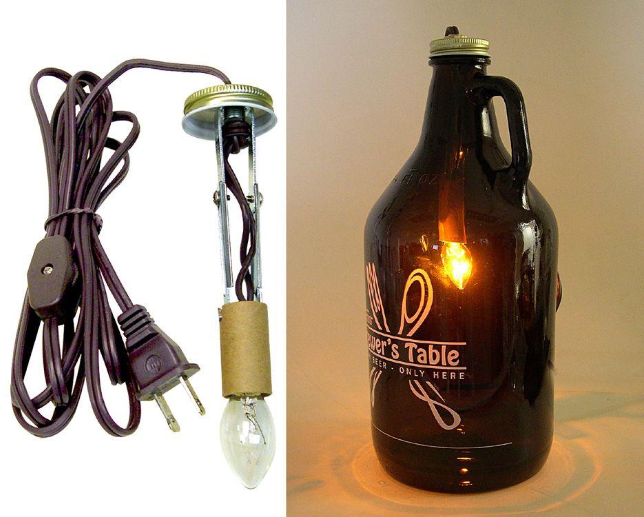 Beer Growler Lamp Making Kits National