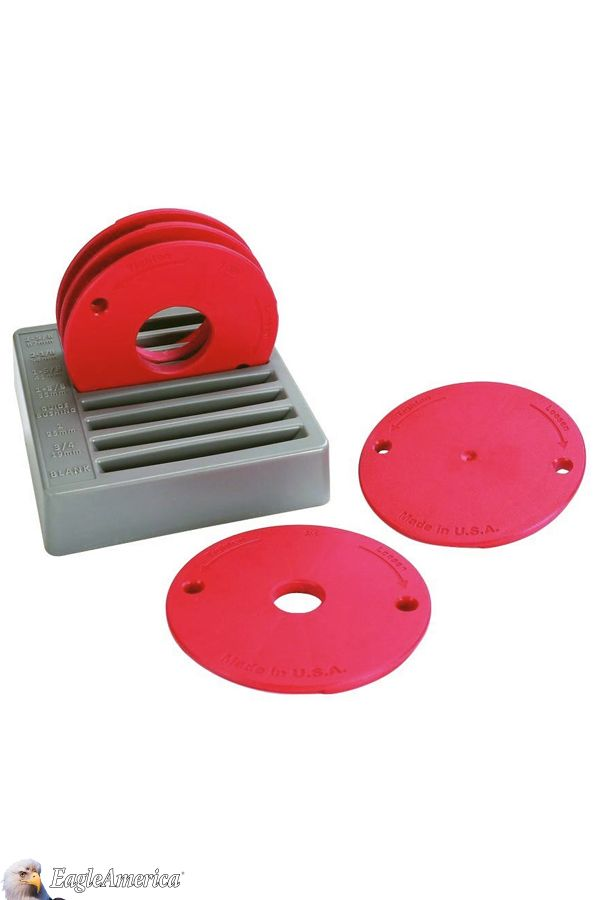 This five piece set of level loc reducing rings fits the kreg this five piece set of level loc reducing rings fits the kreg precision router table insert plate as well as precision router table lift allowing greentooth Gallery