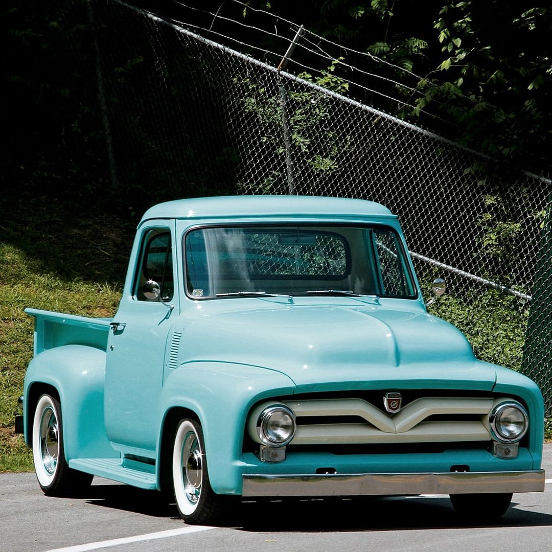 1955 Ford F 100 Facts Frame Stock F100 Rear Bumper Modifications Front Clip C Notch By Bill Foster Rearend Ratio 8 Inch 3551