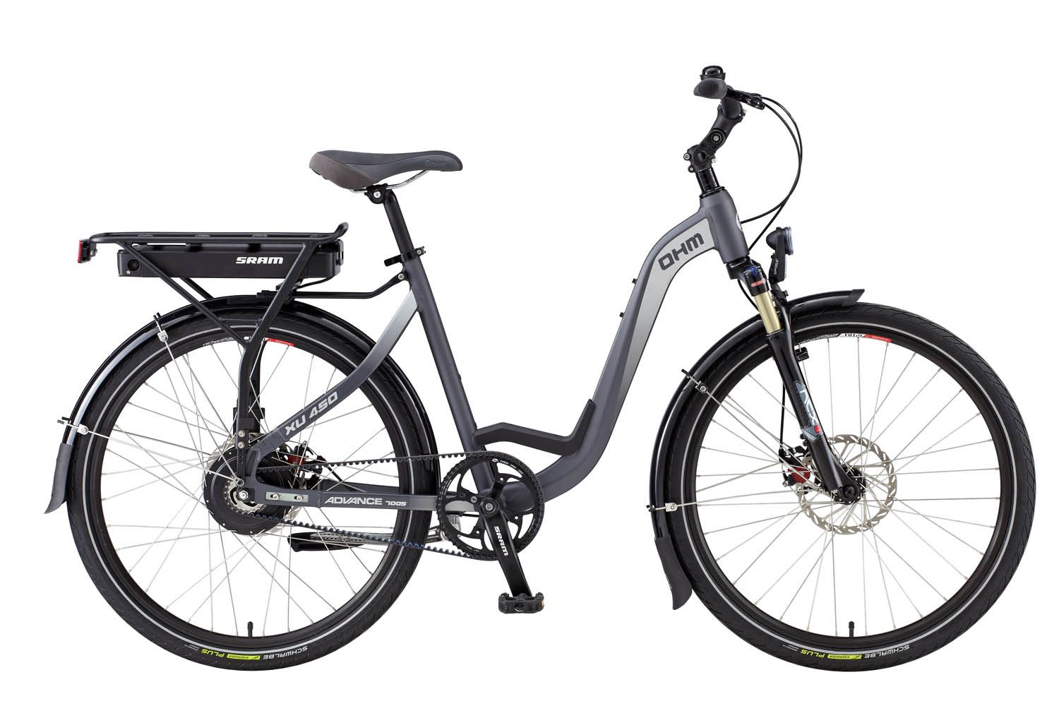 The Ohm Urban Xu450 With Sram E Matic Automatic Shifting System And The Gates Carbon Drive