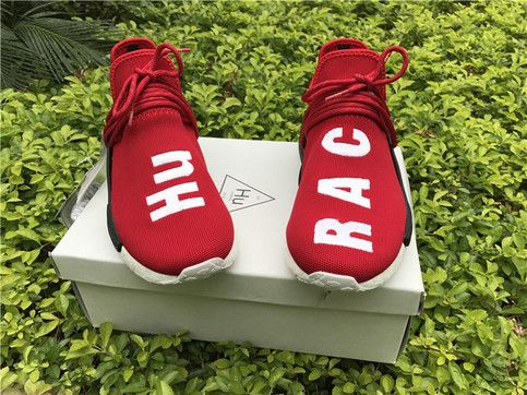 new concept bc09e b04f2 Men and Women Human Race NMD HU Boost Sport Walking ...