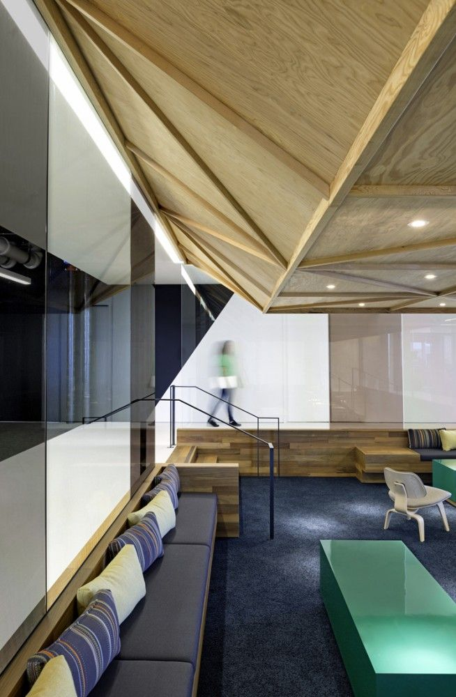 cisco offices studio. Wonderful Offices Dropped Wood Ceiling Lower Seating Area Cisco Offices  Studio OA To C