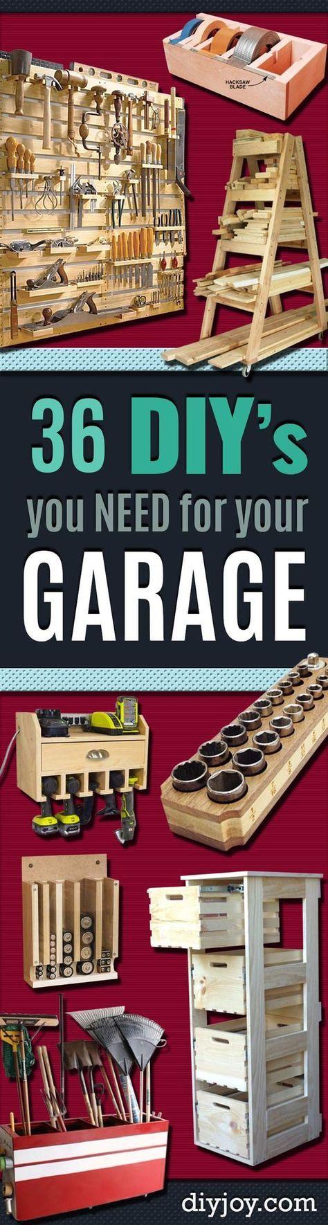 Diy projects your garage needs do it yourself garage makeover ideas diy projects your garage needs do it yourself garage makeover ideas include storage organization solutioingenieria Gallery