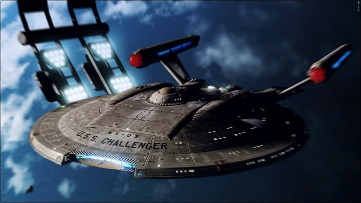 Columbia class (NX refit) ortho - SS Enterprise by