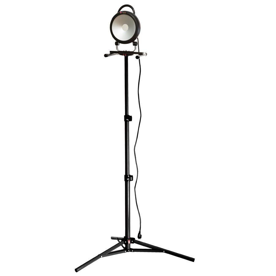 Led Garage Lights Lowes: Shop Utilitech Pro 1-Light 40-Watt LED Stand Work Light At