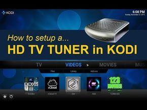 TV Tuner for KODI (FireStick too) - YouTube   Raspberry PI   Tv