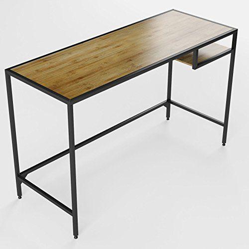 Vintage Industrial Design Space Saver Home Office Desk Ta... Http://