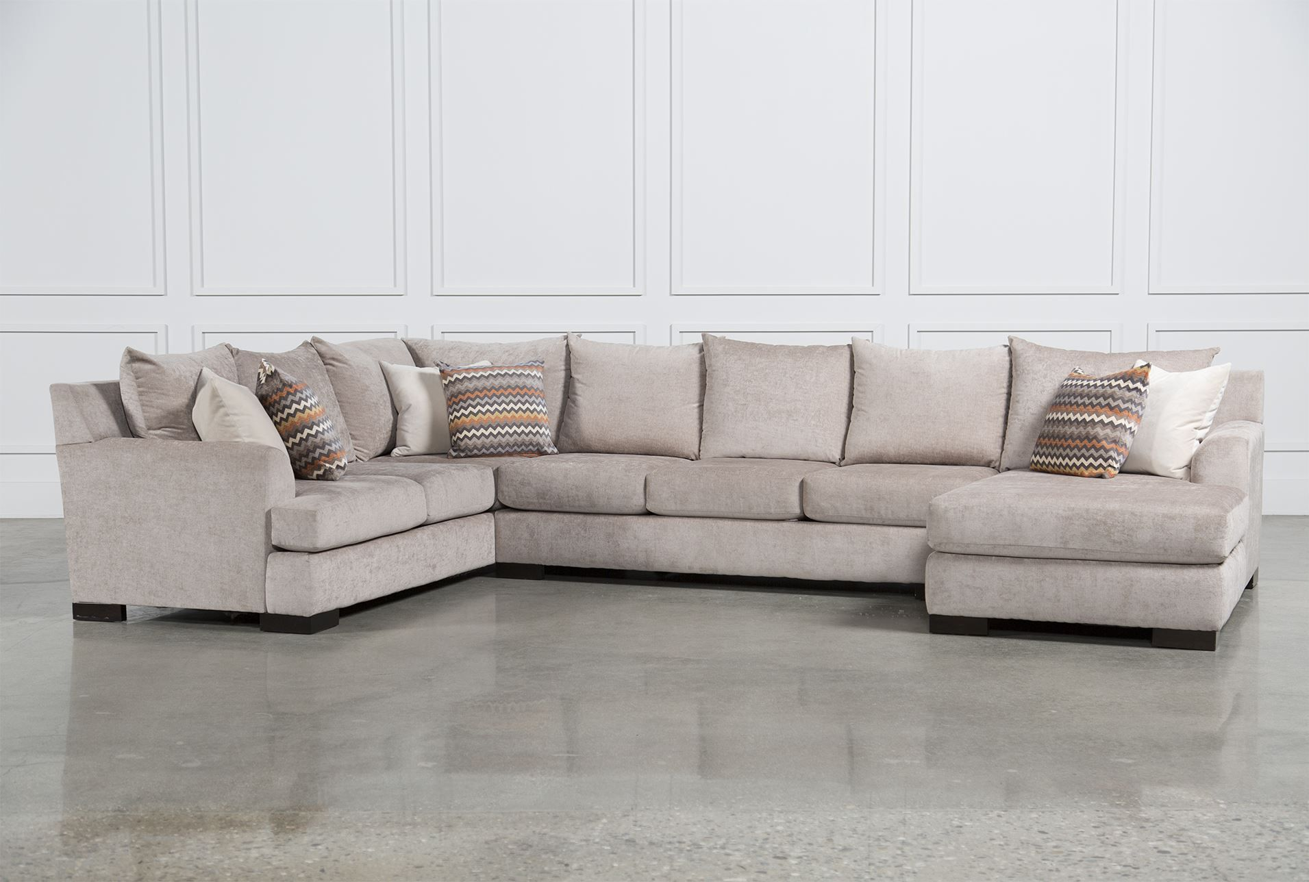 Ellison 3 Piece Sectional; Living Spaces, $99 Delivery; 3 Piece U003d Almost 2K