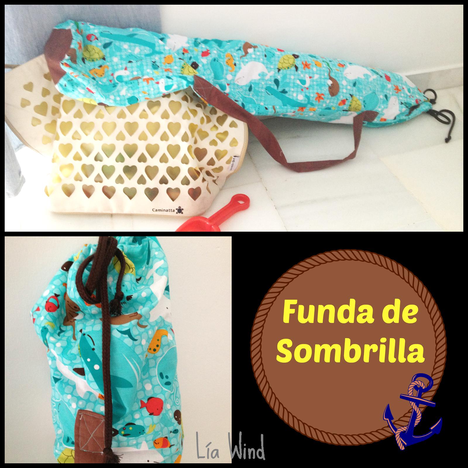 Arte Y Embrujo Una Funda Para La Sombrilla Sombra Sombrillas Para Playa Sombras