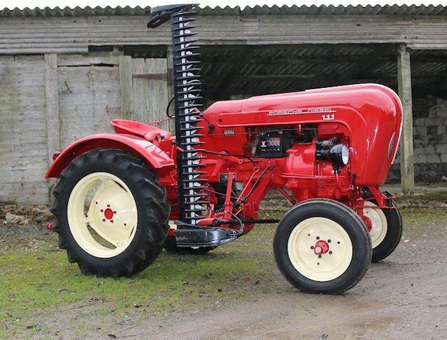 1957 porsche p111 junior tractor ideas traktoren. Black Bedroom Furniture Sets. Home Design Ideas