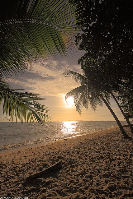 sunset at the beach - Summer 2015