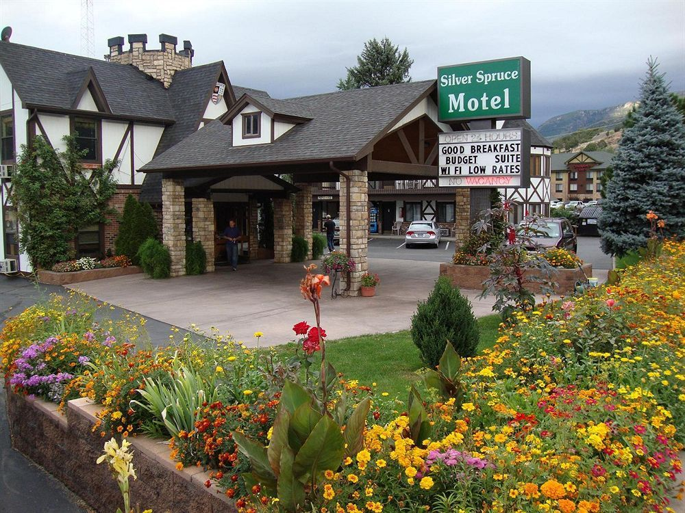 Silver Spruce Motel Hotel Glenwood Springs Colorado Hanging Lake