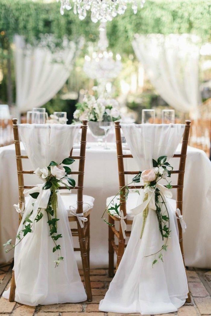 Hochzeitsfeier im Freien - Wenn die Hochzeit im Garten stattfindet... #gardenoutdoors