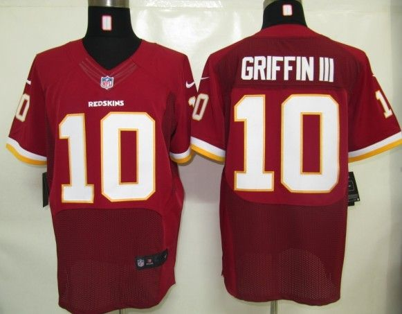 check out 9570a 83569 Nike NFL Washington Redskins 10 Griffin Iii Red Elite ...