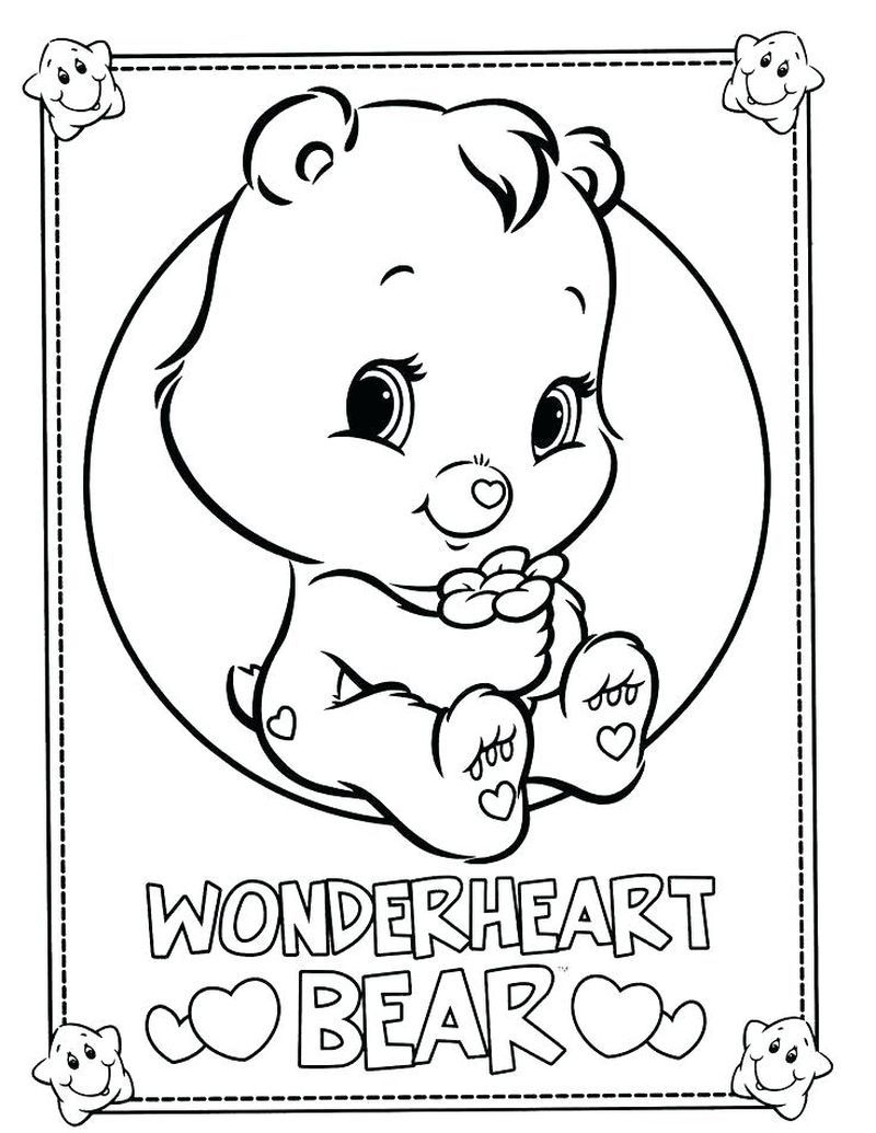 Care Bears Coloring Pages Birthday Bear Bear Coloring Pages Hello Kitty Colouring Pages Unicorn Coloring Pages
