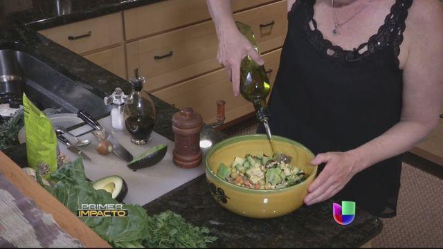 Meditación, comida orgánica y ejercicio, la receta para recobrar la salud