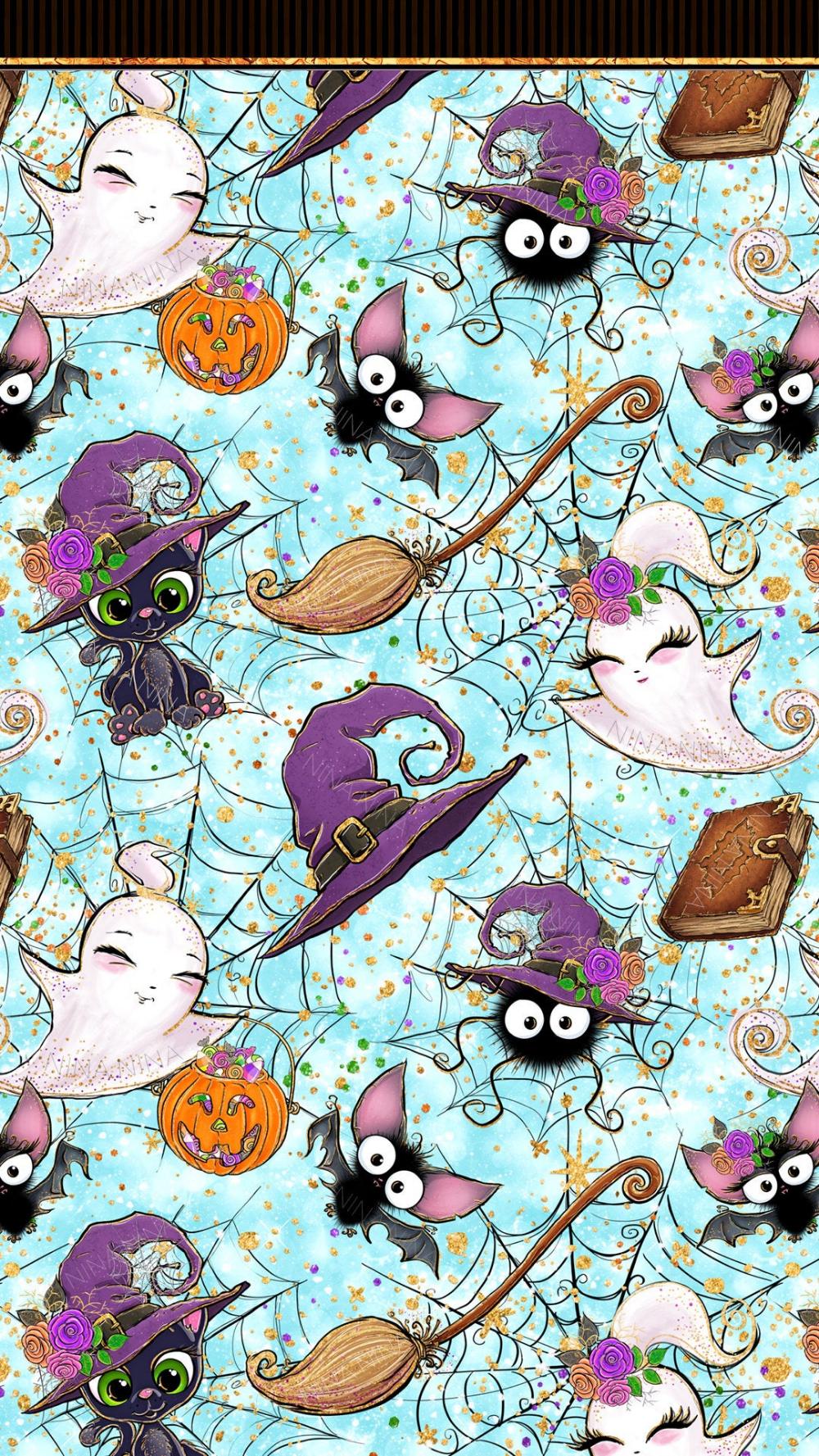 Cute Halloween Digital Papers Halloween Seamless Patterns Spooky Fabric Patterns In 2020 Halloween Wallpaper Iphone Halloween Wallpaper Backgrounds Halloween Digital