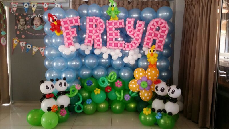 FREYA Balloon Backdrop Display backdrop Pinterest Balloon