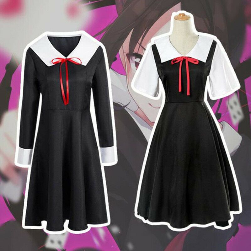 Kaguya-sama Love Is War Shinomiya Cosplay Dress Gown Suit Outfit Kimono Costume